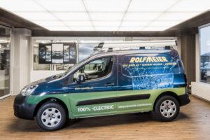 Rolf Meier Sanitär Elektroauto, Sanitär und Spenglerei Stadt St. Gallen